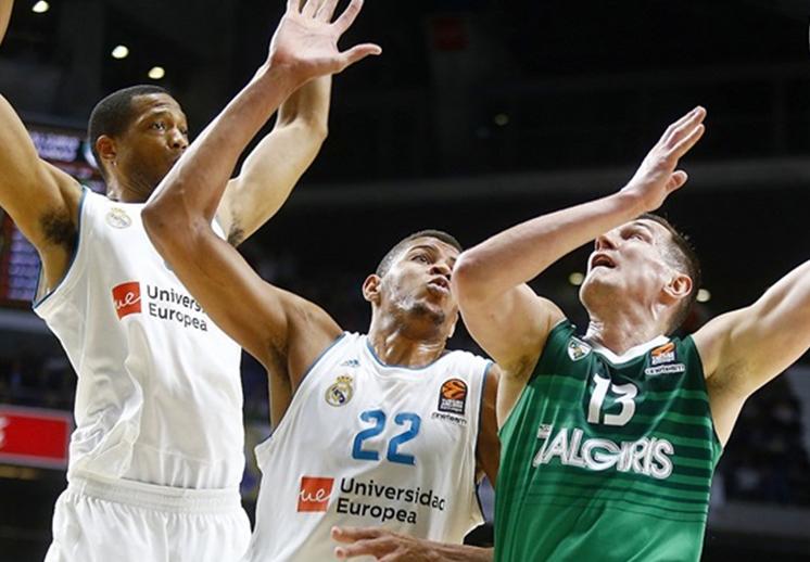 Sin Ayón, el Real Madrid saca triunfo en Euroliga