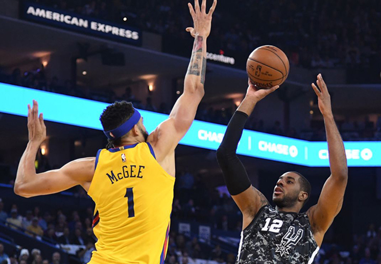 Warriors y Spurs sacaron chispas