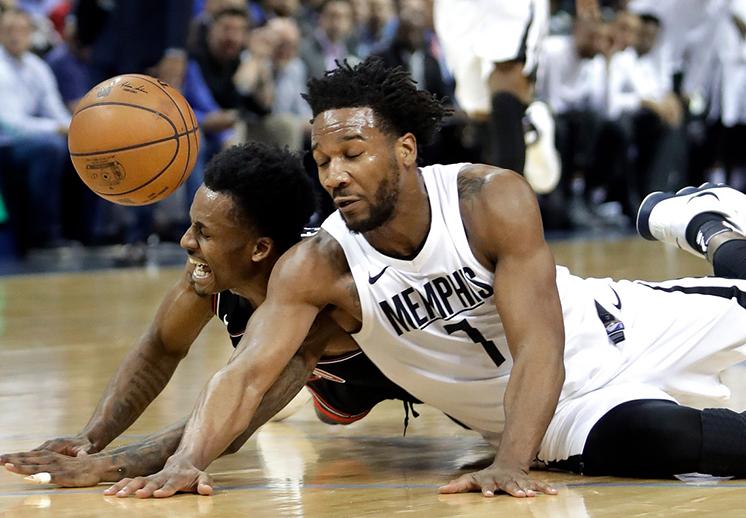 Los heridos Grizzlies de Memphis