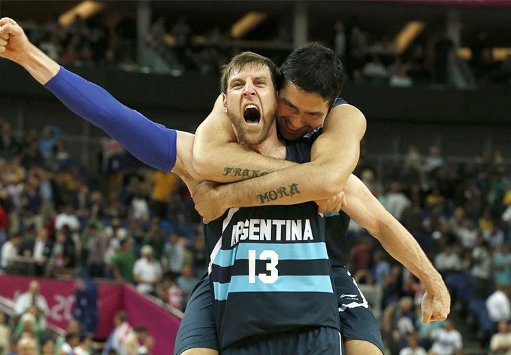 """La 13 del """"Chapu"""" Nocioni se retira de la selección argentina"""