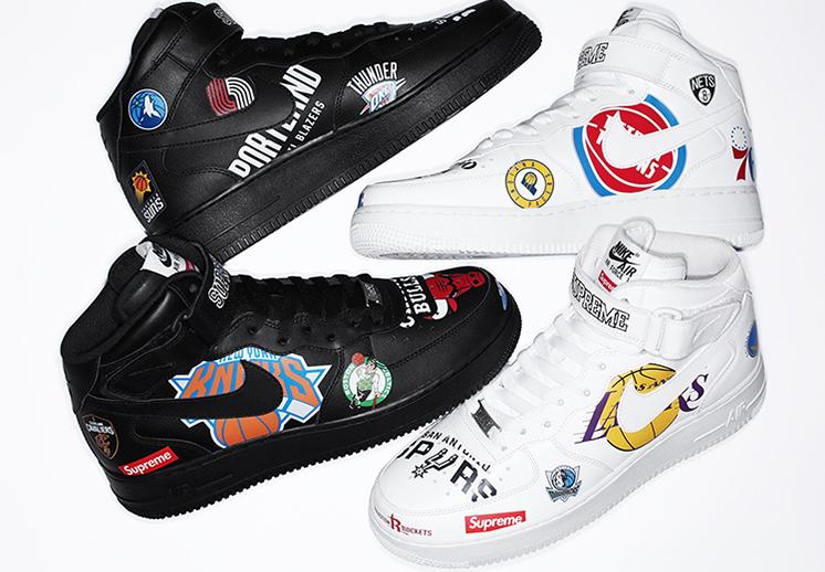 La colección de la NBA, Nike y Supreme