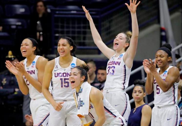 Las Huskies de UConn impresionan en la NCAA