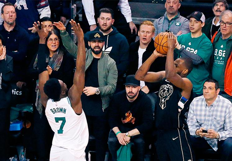 Primer golpe de los Celtics