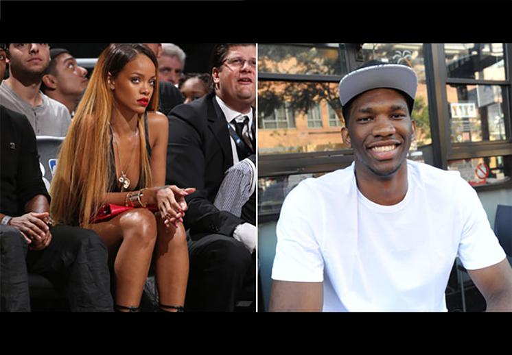 Joel Embiid no quita el dedo del renglón con RihannaJoel Embiid no quita el dedo del renglón con Rihanna