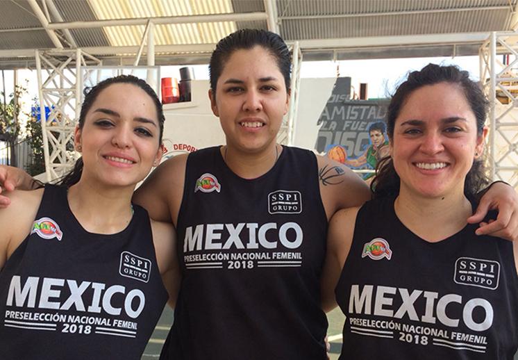 La Selección Femenil con la meta en Centroamericanos