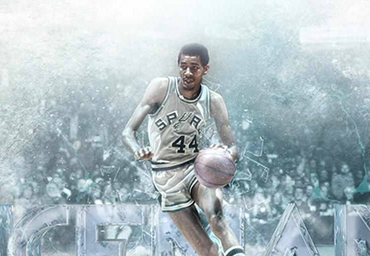 George Gervin, una leyenda de los Spurs