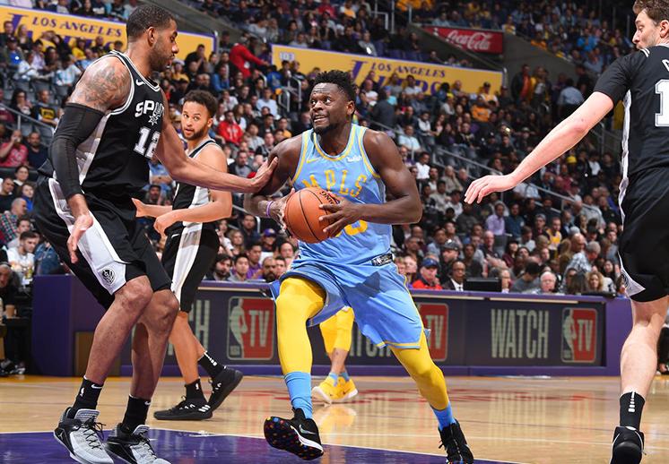 Lakers rompió la maldición con San Antonio