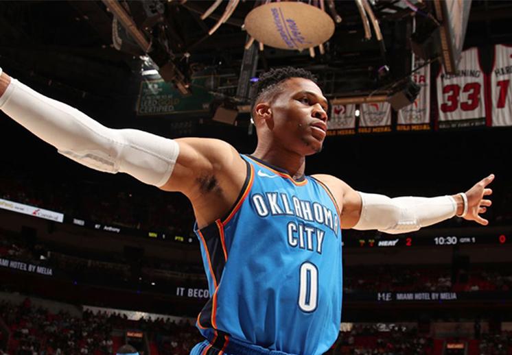 El último récord de Westbrook