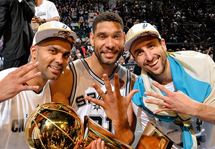 El romance Manu-Tony-Tim en los Spurs