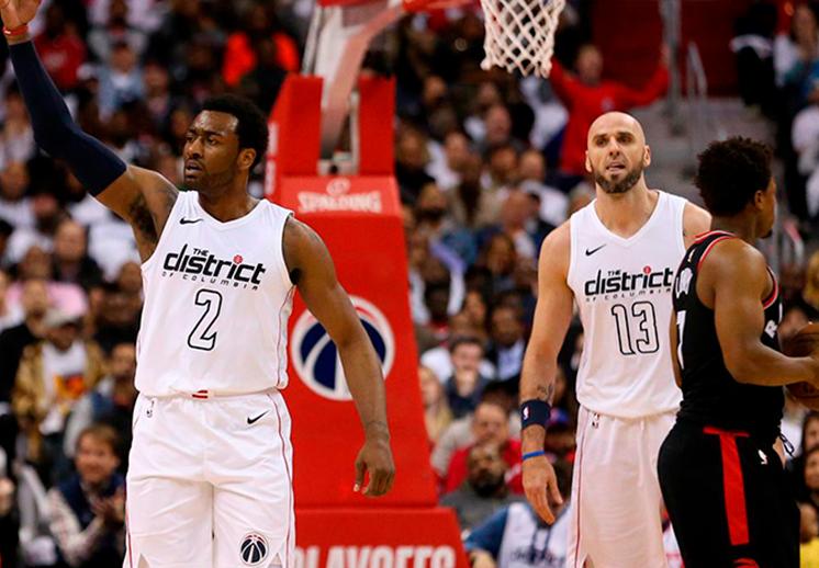 Bucks y Wizards revivieron en casa