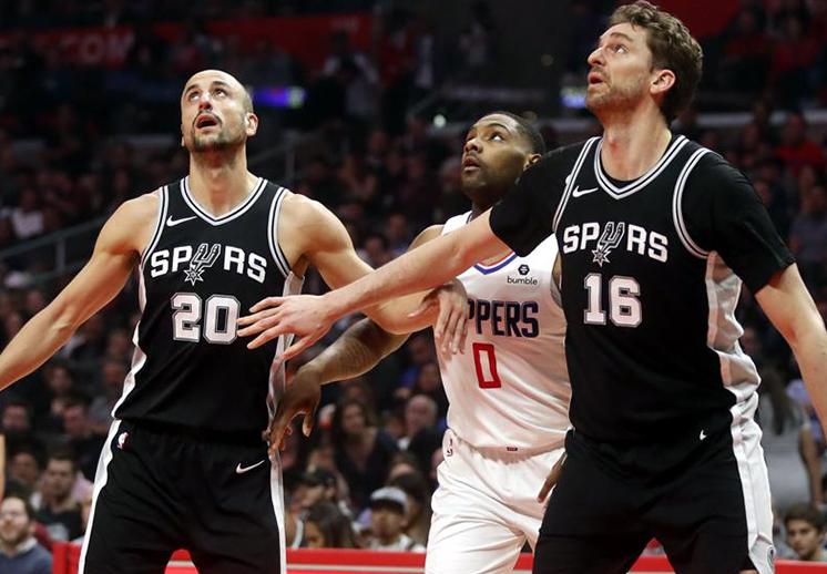 Los Spurs dicen adiós a una impresionante racha