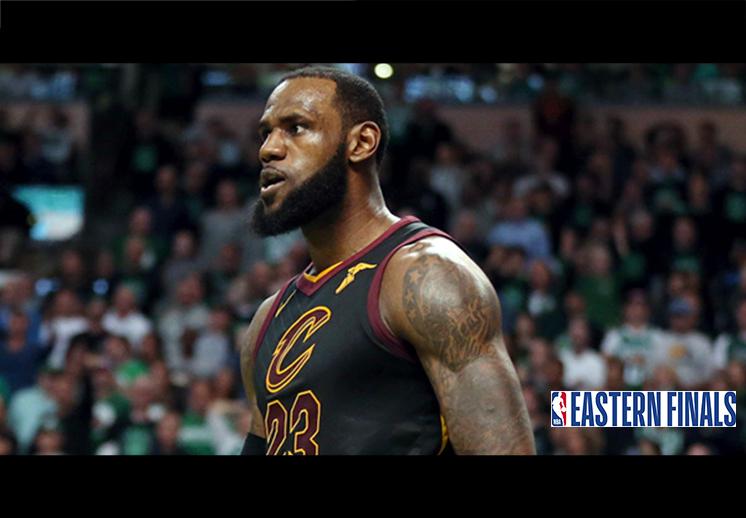 La gesta heroica de LeBron James