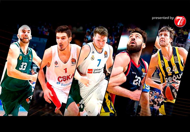 Listos los Equipos Ideales en la Euroleague
