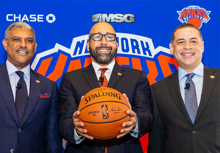 Los Knicks presentaron a David Fizdale