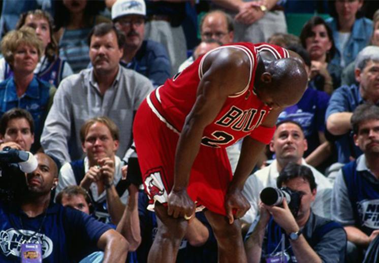 Las derrotas de Jordan en Playoffs