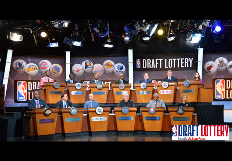 Noche de lotería en la NBA