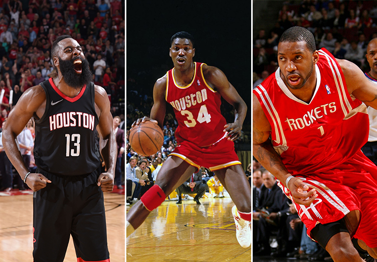 El cuadro de honor de Houston Rockets