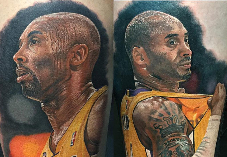 Steve Butcher, pasión por el basquet y los tatuajes