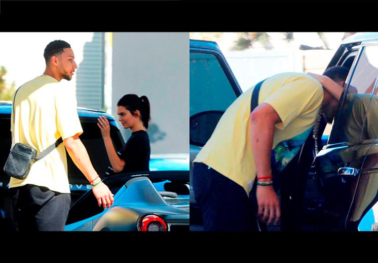 Ben Simmons y Kendall Jenner comparten casa