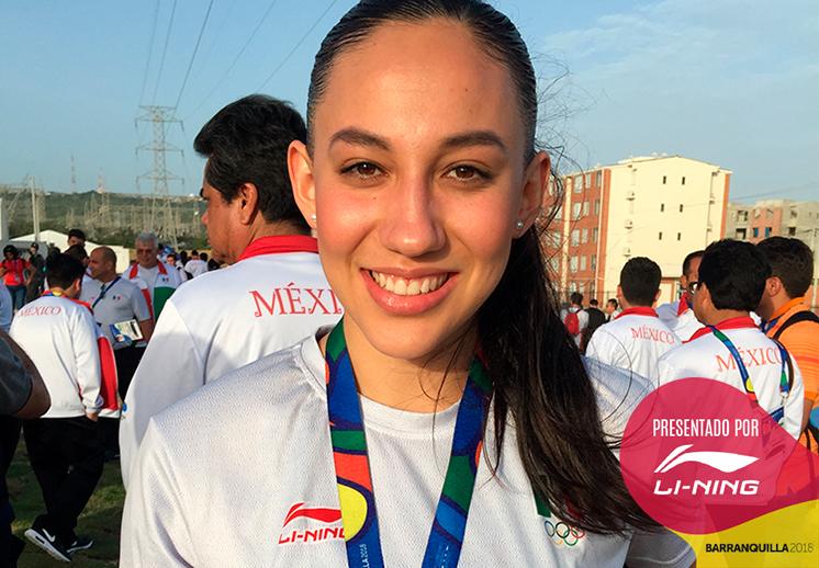 Claudia Ramos va por todo en Centroamericanos