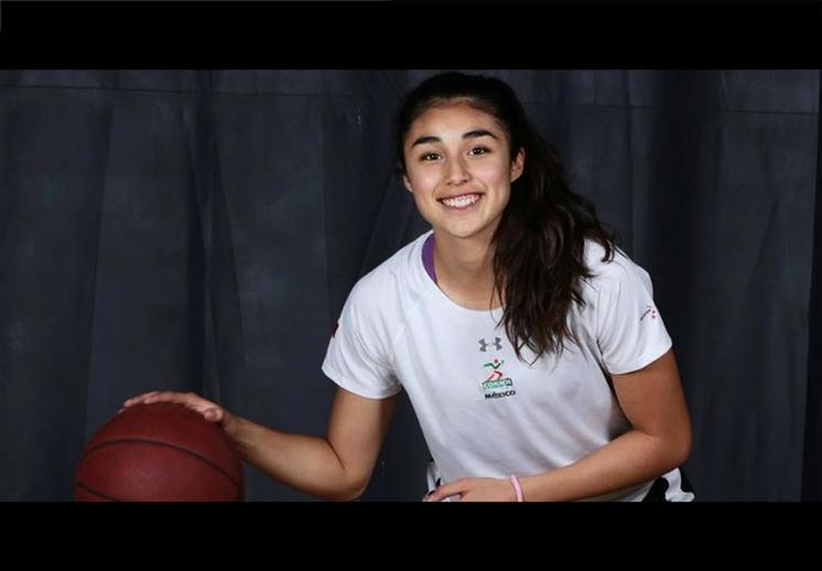 Karla Martínez con pase directo al basquet de EE.UU