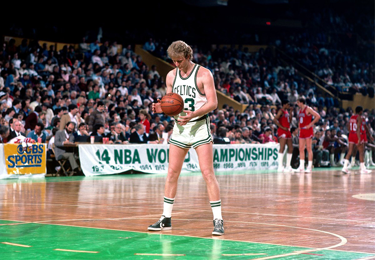 Larry Bird, un jugador excepcional