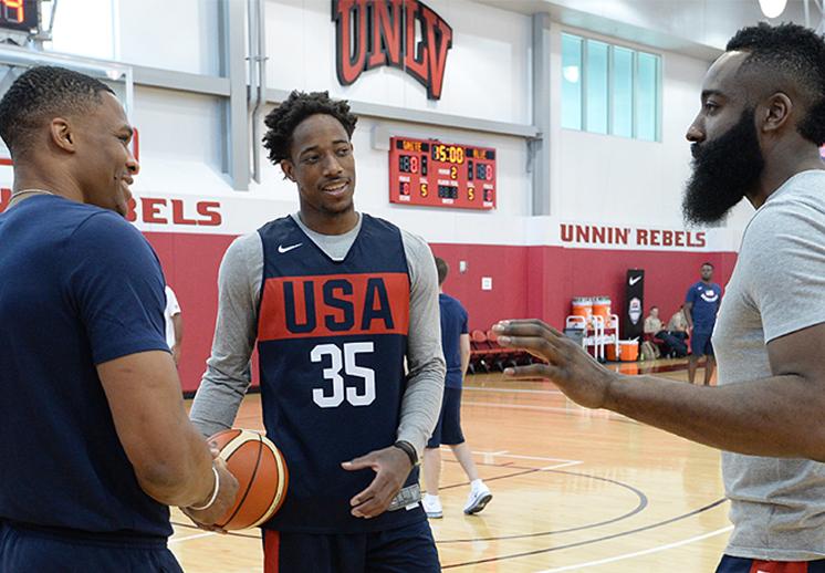 Los mejores momentos del campamento de verano del USA Team