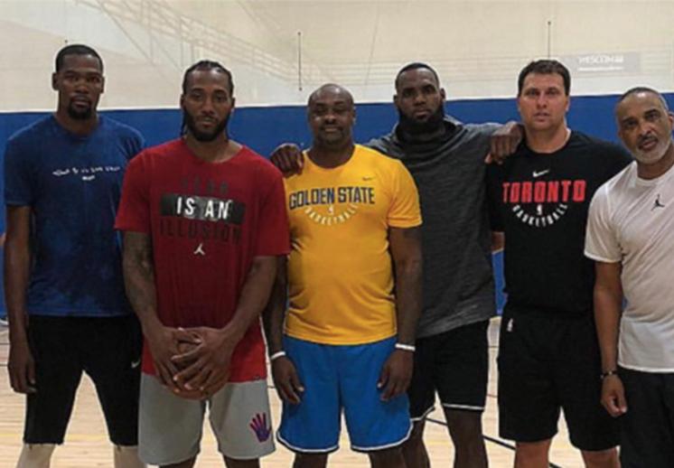 UCLA se llenó de estrellas de la NBA