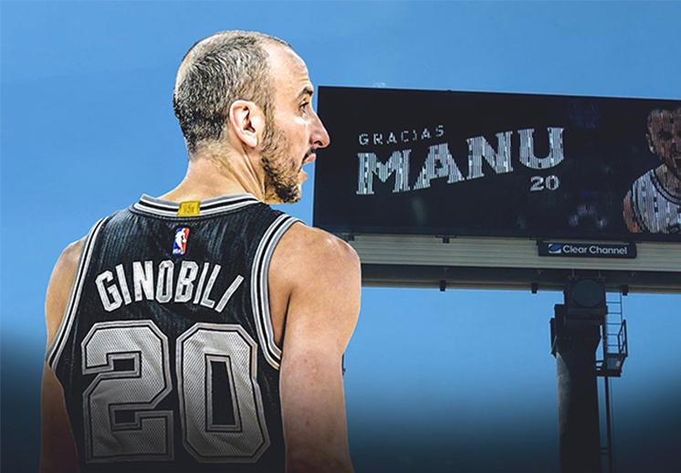 Manu Ginóbili sigue haciendo historia