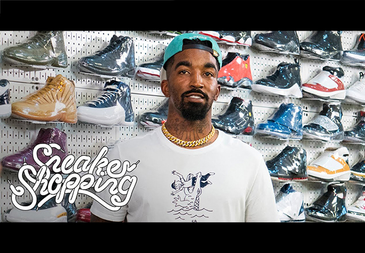 De compras con JR Smith