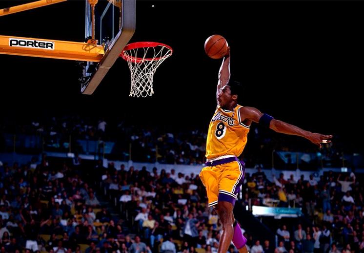 Las mejores clavadas de Kobe Bryant