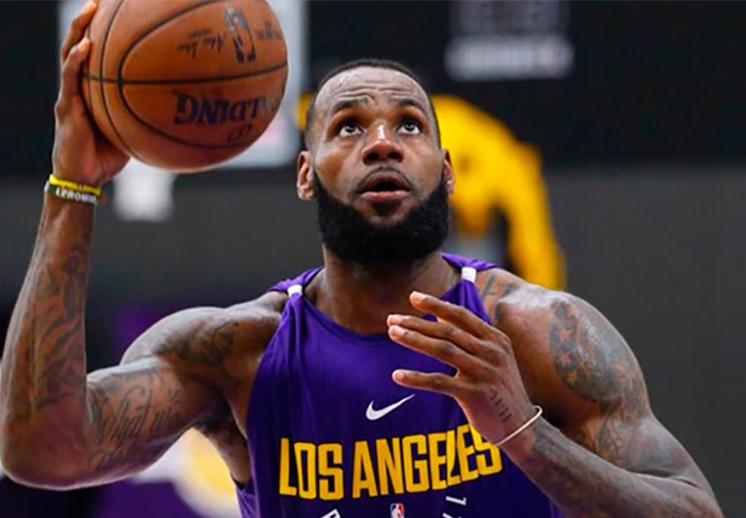 LeBron James y los Lakers se roban la atención en TV