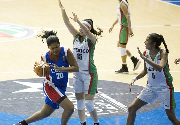 Cuba fue el verdugo de México en el Centrobasket