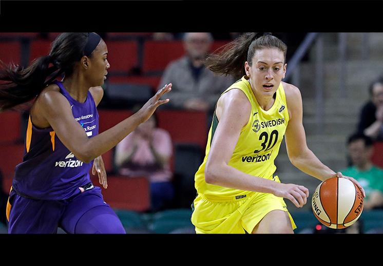 Breanna Stewart elegida MVP de la WNBA