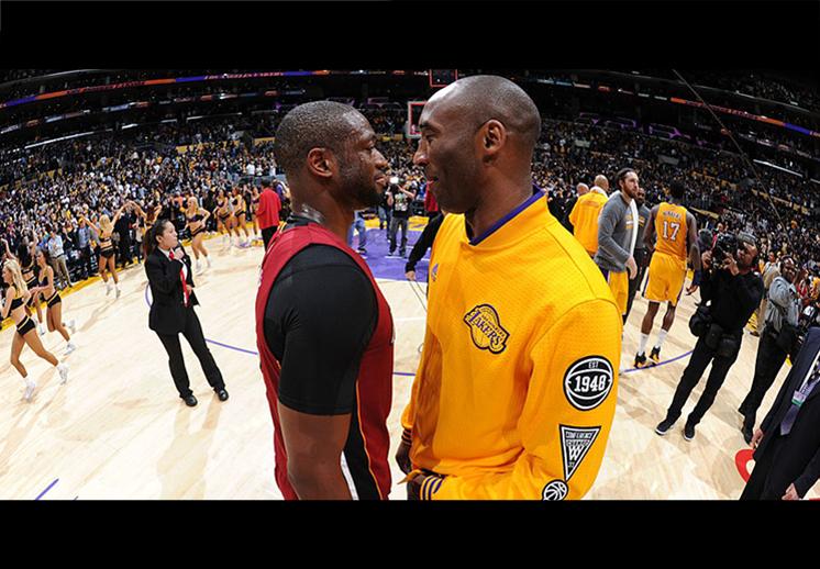 Wade rindió tributo a Kobe