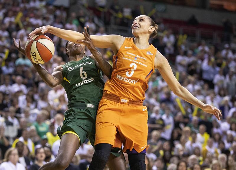 Diana Taurasi le metió drama a las semifinales de la WNBA