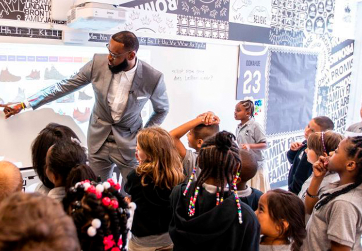 La IPS de LeBron James es más grande que el basquetbol