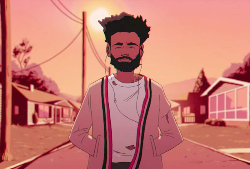 Childish Gambino y su nuevo video animado