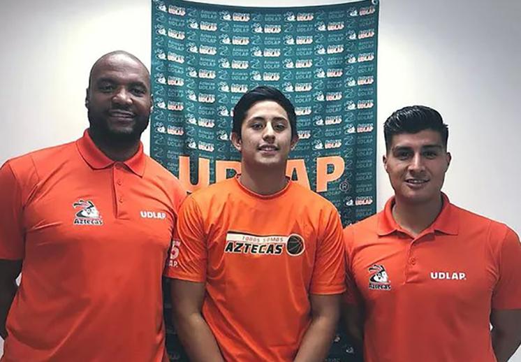 Eric Martin, por una temporada más con los Aztecas de la UDLAP