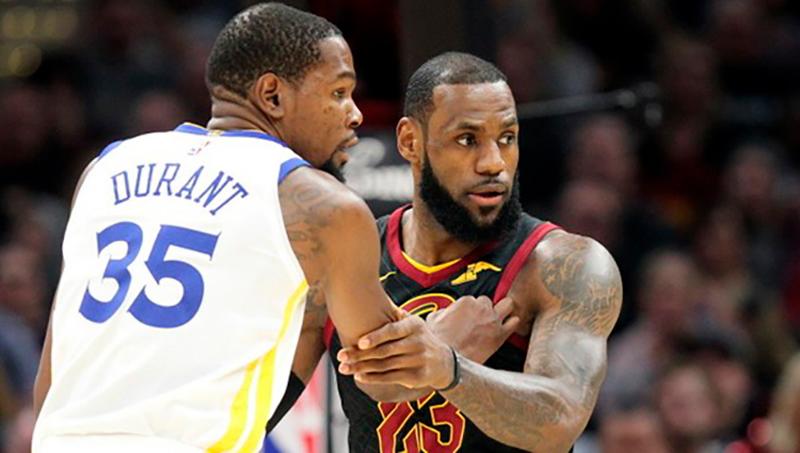El rap de Kevin Durant y LeBron James