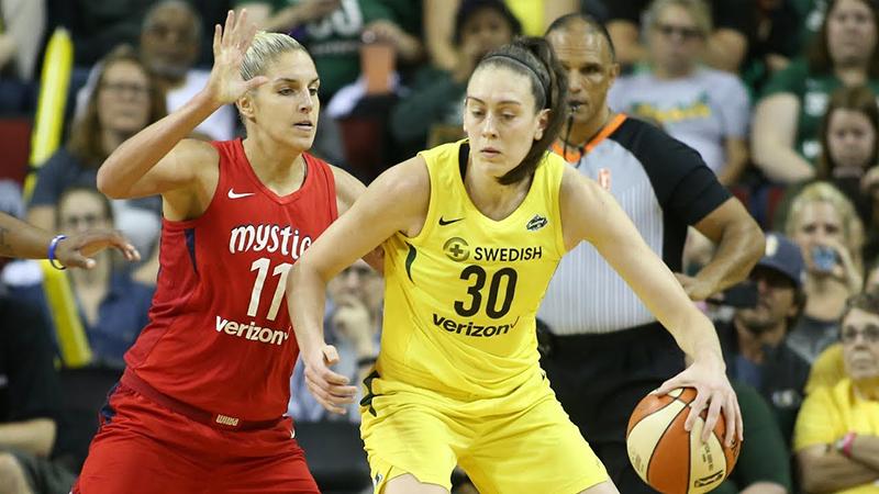 El show de las Finales de la WNBA
