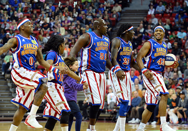 El basquetbol de los Harlem Globetrotters