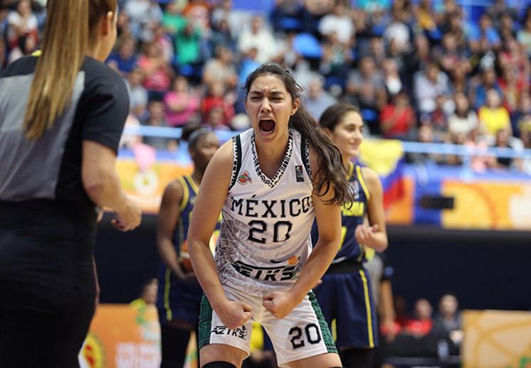 Una mexicana más en el basquet colegial de EE. UU.
