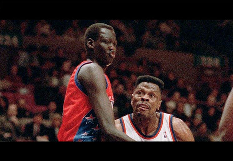 Manute Bol, un gigante de la NBA