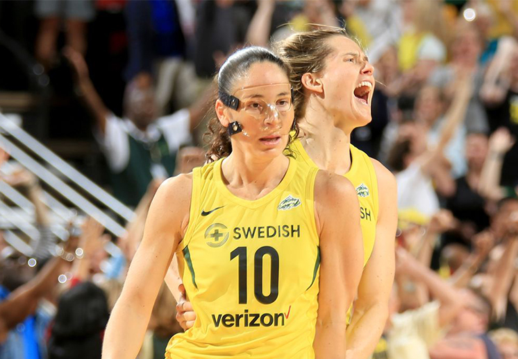Sue Bird en modo leyenda