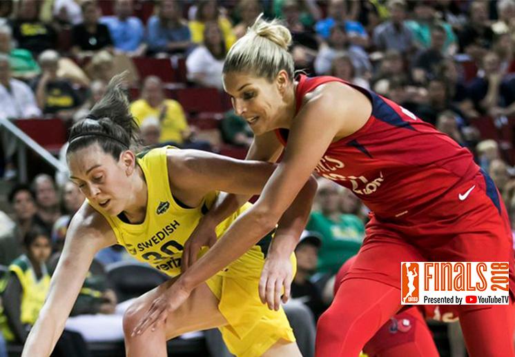 Todo listo para las Finales de la WNBA