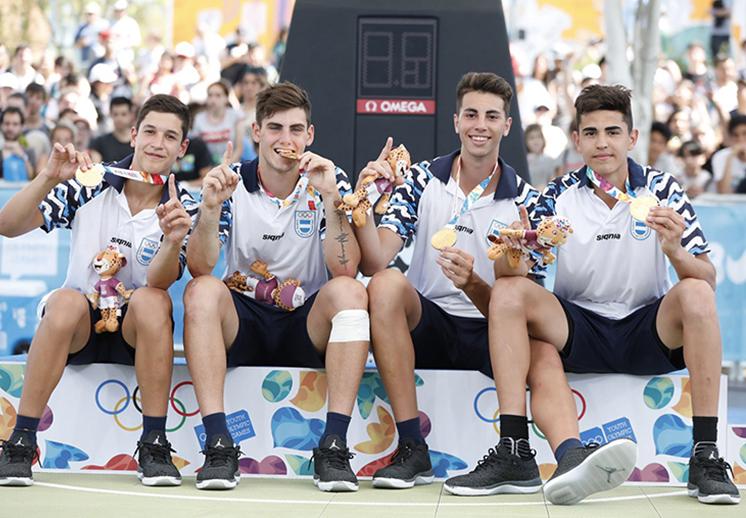 Oro para Argentina en los Juegos Olímpicos de la Juventud