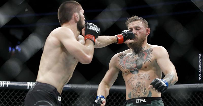 Las reacciones de los jugadores de la NBA en la pelea de la UFC