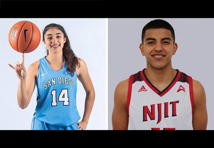 Así lucen los mexicanos de la NCAA