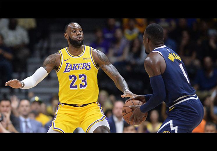 Amargo debut para los Lakers